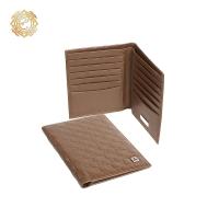 Кожаный кошелек   «Тамгалы» с элементами национального орнамента