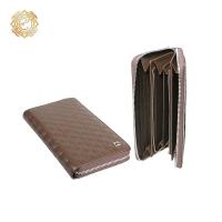Кожаное портмоне  «Тамгалы» с элементами  национального орнамента