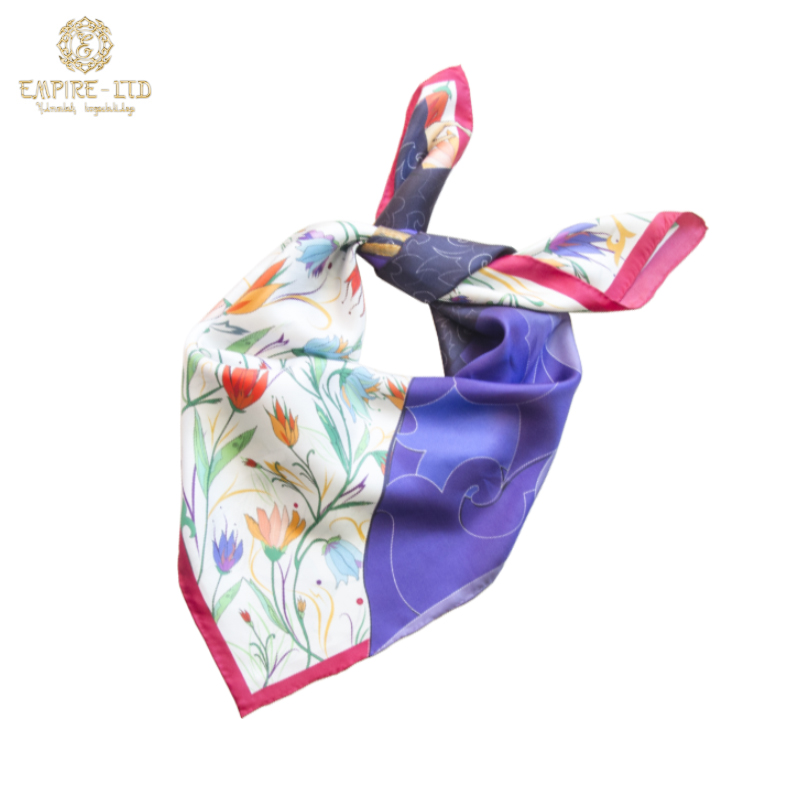 Коллекция шелковых платков «Жібек»