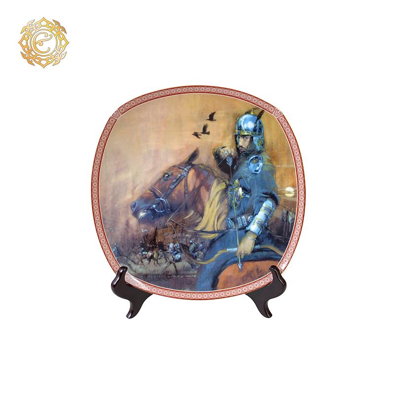 Декоративная тарелка «Әскер»