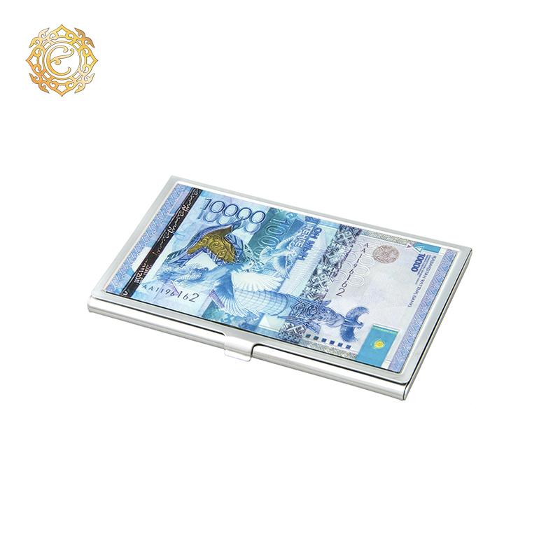 "Визитница «10 000 тенге» из коллекции ""Тенге"""