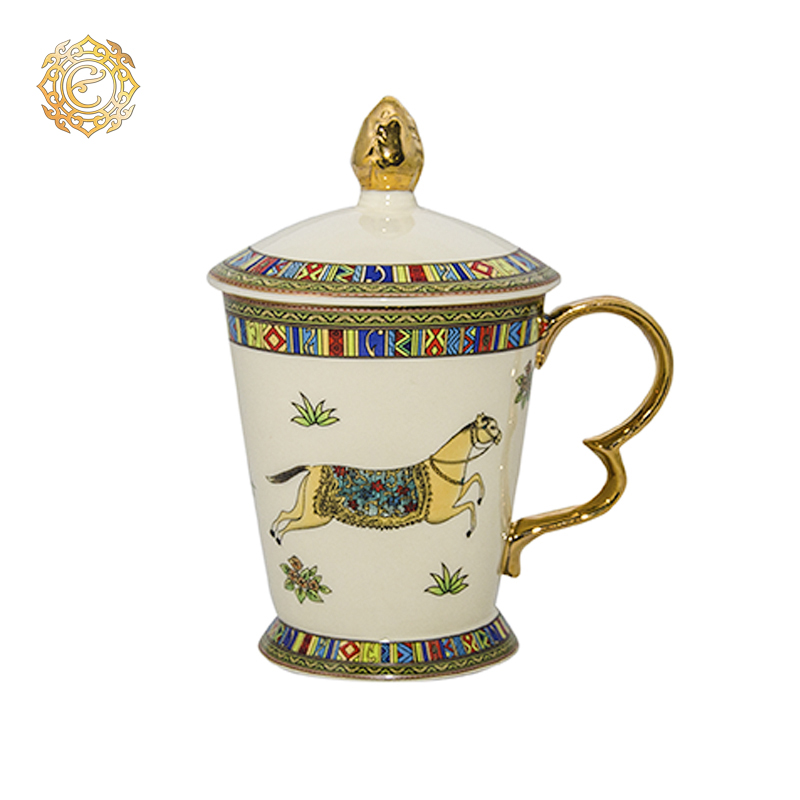 Кружка с крышкой из коллекции «Алтын-Арашан»