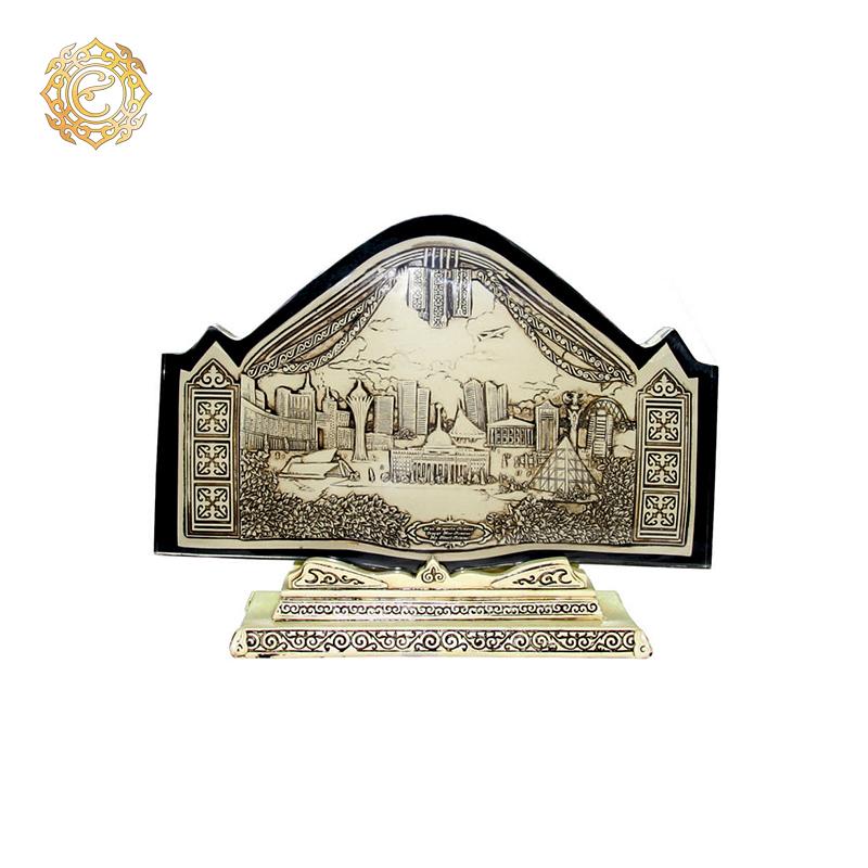 Акриловая стела с панорамным изображением города Астаны
