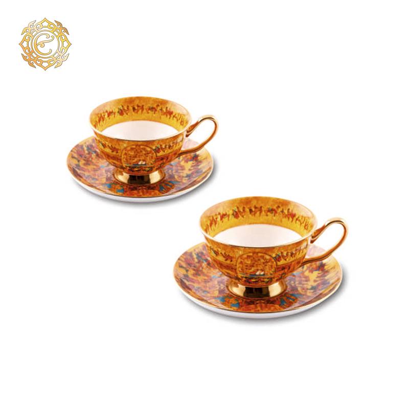 Чайная пара из серии «Шелковый путь»