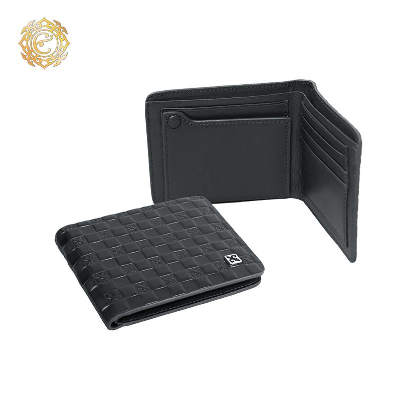Кожаный кошелек «Тамғалы» с элементами национального орнамента