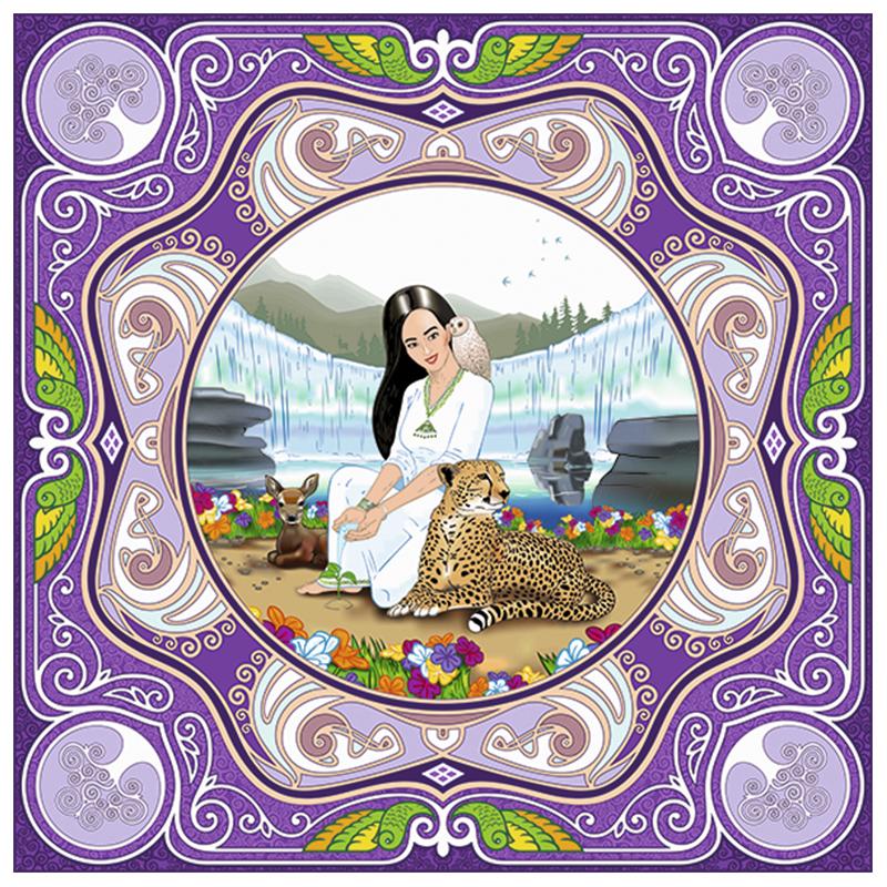 Коллекция шелковых платков «Айша»