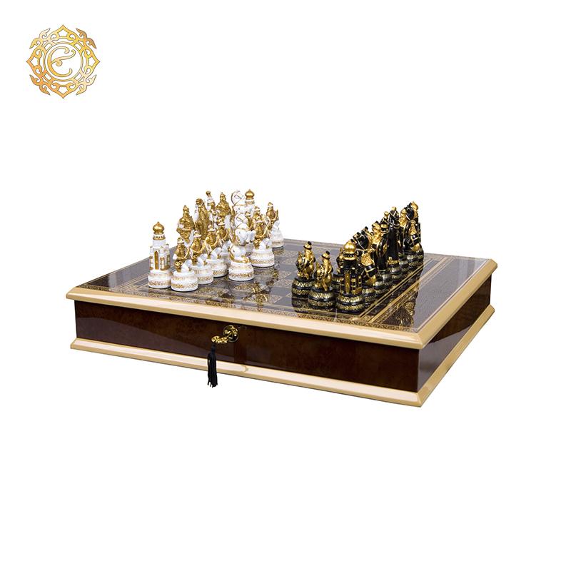 Шахматы «Воины великой степи»