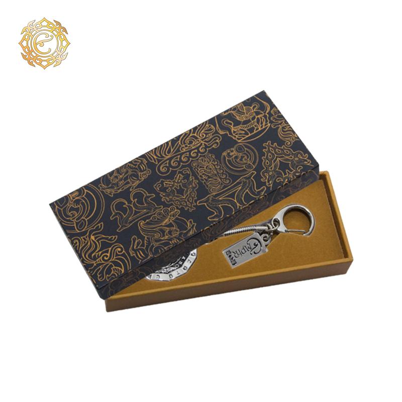 Брелок «Ирбис» из коллекции «Сакское золото»