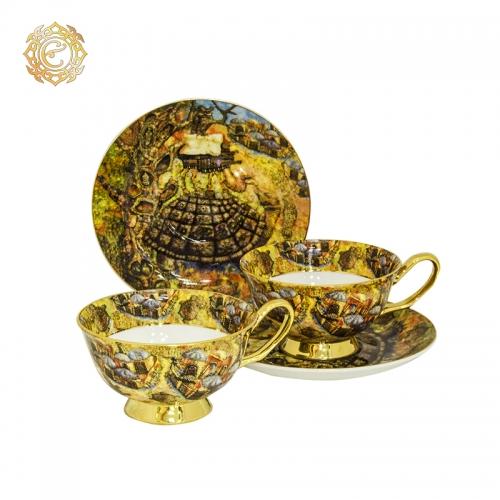 Чайная пара из серии «Асық»