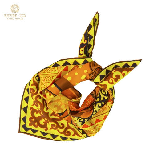 Коллекция шелковых платков «Тулпар»