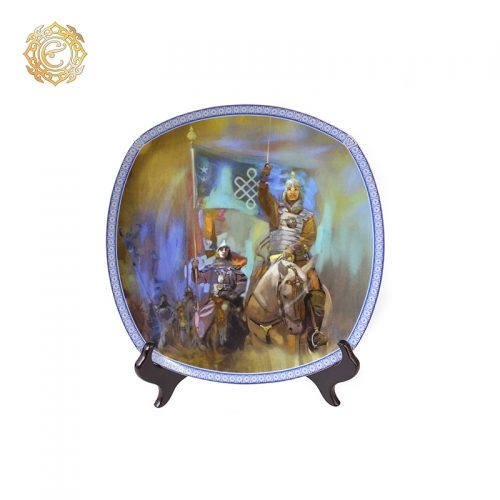 Декоративная тарелка «Бахадур»