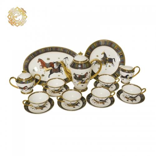 Чайный сервиз «Ақбозат» на 6 персон