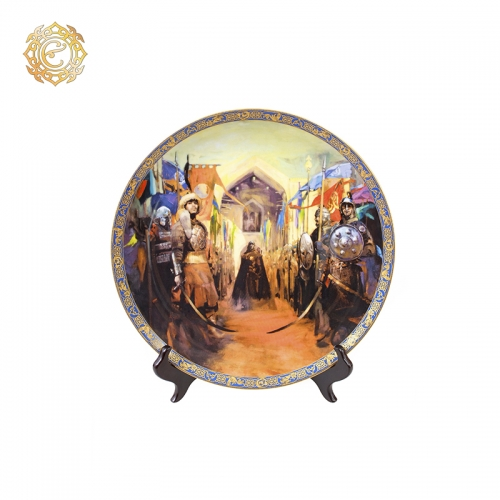 Декоративная тарелка «Темірлан»