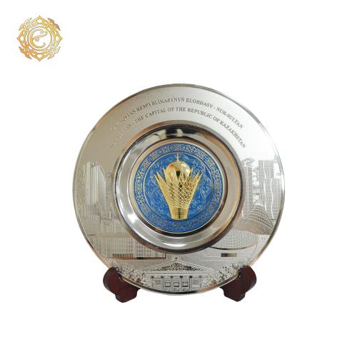 Декоративная настольная тарелка «Нур-Султан»