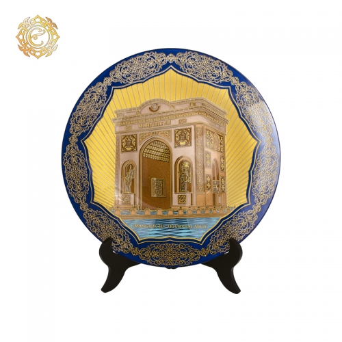 Декоративная тарелка «Жеті қазына»