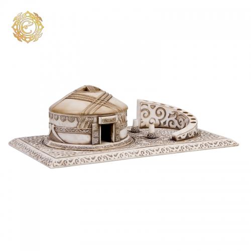 Настольный офисный набор «Киіз үй» (Юрта) для канцелярских принадлежностей