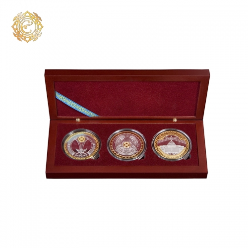 Подарочный набор медалей «Астана - Казахстан»