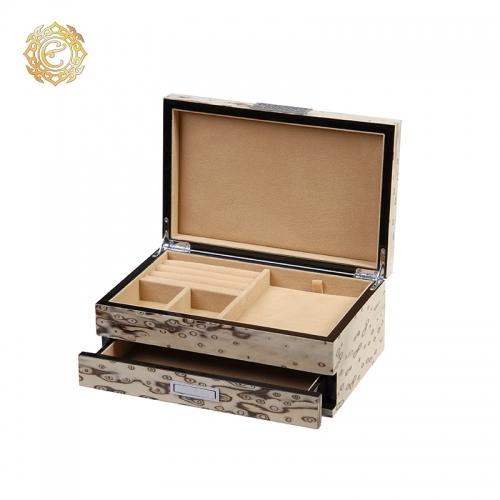Кейс двухъярусный для ювелирных украшений в национальном стиле